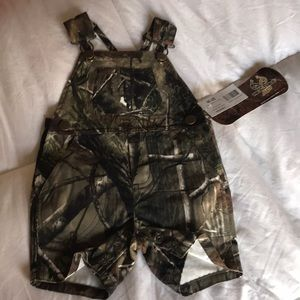 Realtree infant overalls